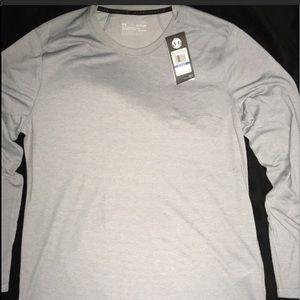 UnderArmour Silver Coin Long Sleeve Men's Shirt XL